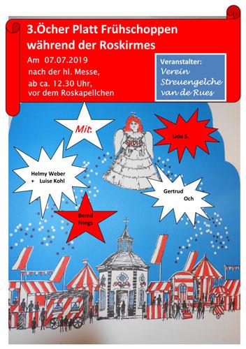 Frühschoppen Öcher Platt 2019
